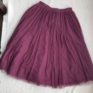 ASOS Like New Midi Skirt
